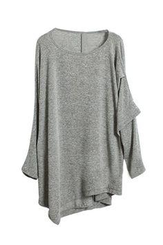 Asymmetric Boyfriend Knit