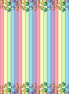 Pastel Pokemon Star Strips by Kitsune-no-Kiki.deviantart.com on @DeviantArt