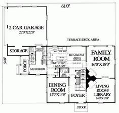 Floor plan hart cluett mansion historic american building for Best floor plan ever