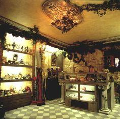 Vue intérieure de la boutique
