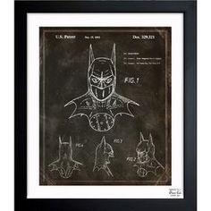Batman, 1992 Framed Print, Oliver Gal