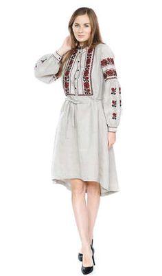 Чорне плаття з кольоровою вишивкою арт. 13-17 00 купити в Україні і ... b2b10b0d7c6fc
