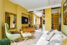 """""""THE SHIFT"""", A FENG SHUI MODERN HOME IN PARIS/ SEE MORE AT: http://modernhomedecor.eu/modern-furniture/the-shift-decorating-project-paris/"""