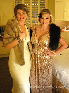 Great Gatsby Birthday Party! Thriving Wives: The Great Nicolle & Gatsby Glamour