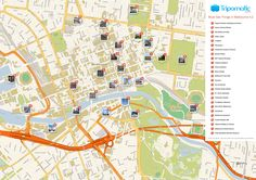 67 Best Free Tourist Maps ✈ images