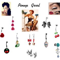 """Pinup Grrrl"" by bodycandy on Polyvore #BodyCandy #pinup #style"