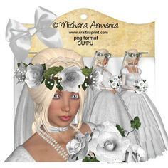 Sweet Bride 1 on Craftsuprint designed by Mishara Armenia - �Mishara Armenia Commercial and personal use ok / CU4CU. Don't resell them in their original form (as poser tubes). Don't claim my work as yours. These tubes can be resized and recolored. - Now available for download!