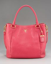 I usually think Prada bags are rather boring.  But I like the size and color of this one.