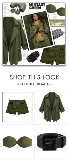"""Attention! Go Army Green"" by court8434 ❤ liked on Polyvore featuring J.Crew, Citrine by the Stones, Y-3 and Gogreen"