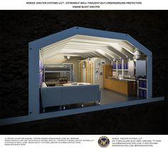 S16x40 blast shelter interior 4