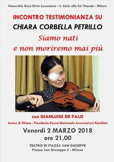 Milano, 2 marzo 2018 – Chiara Corbella Petrillo