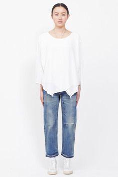 Tienda Ho Layered Top (White)