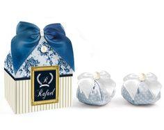Caixinha com sachês perfumados