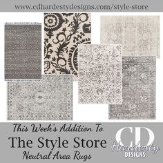 Welcome to CDHardesty Designs Farmhouse Rugs, Farmhouse Style, Bedroom Design Inspiration, Entry Way Design, Residential Interior Design, Home Office Design, Coastal Style, Dining Room Design, Rugs In Living Room