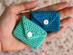 Perhaps a coin or credit card purse to attach to your keychain!