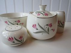 Vintage Mid Century Paden City Pottery Seville by thechinagirl