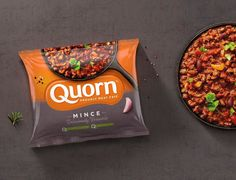 Bulletproof designed the packaging and new global identity for Quorn, the leading meat-free brand in the UK. The design includes mouthwatering photography that makes meat-free eating look so good. Food Packaging, Brand Packaging, Product Packaging, Label Design, Branding Design, Package Design, Design Agency, Quorn Recipes, Quorn Foods