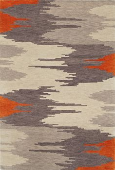 Nebraska furniture mart Dalyn Rug Company Impulse x Orange Area Rug Orange Art, Orange Rugs, Orange Area Rug, Fabric Rug, Nebraska Furniture Mart, Textiles, Patterned Carpet, Beige Carpet, Modern Carpet