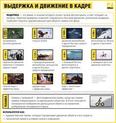 В своей школе фотографов компания Nikon сделала крутую инфографику, в которой объясняются элементарные вещи о процессе фотосъемки. Их советами стоит воспользоваться.