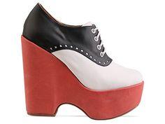 Saddle shoes...........