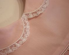 adding lace to collars  Creations By Michie` Blog: Tutorial-Collars