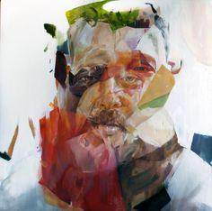 """""""AB"""" -100cm x 100cm - Oil on canvas- Benjamin García"""
