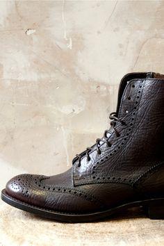 Sendra Boots Ruat Corona Dark Brown 10053   Mens Sendra Boots