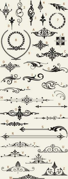 Letterhead Fonts / LHF Americana Ornaments / Golden Era Studios by IndulgenceLady102
