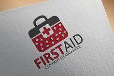 First Aid Logo by Josuf Media on Creative Market