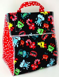 School is out! Are your little ones on the go this summer- to camp, daycare, poutings? If so, this is the lunch bag for you!   Have...