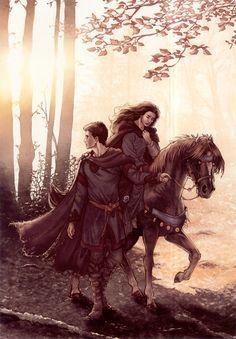 fantasy art couples - Google Search