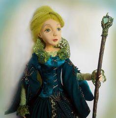 Лесная царевна • Dolls Collection by Светлана Филоненко on Kolektado