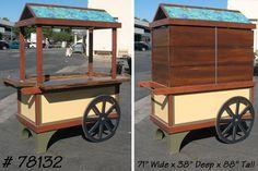 "flower+carts+on+wheels | 71"" Wide x 38"" Deep x 88"" Tall."