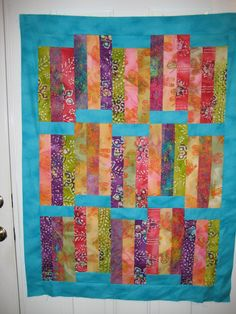 My First Jelly Roll Strip Quilt Top - Quilt With Us