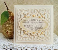 Le Jardin de Papiers: Flourishes Timeless Tuesday: Favorite Stamp and Spellbinder