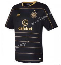 Celtic Away Black Thailand Fans Soccer Jersey d5f0a5826