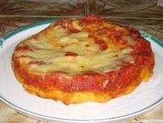 Tarte Tatin Tomates Mozzarella = recette à améliorer avec des poivrons et de la viande hachée.