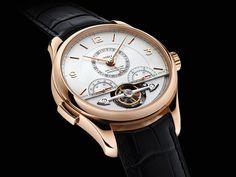 The Heritage Chronométrie ExoTourbillon Chronograph combines 2 chronometric complications: chronograph & tourbillon