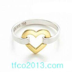 Tiffany & Co Jewelry Colou Separatio Heart Ring