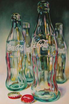 Coca Cola - oil by Britist artist Kate Brinkworth