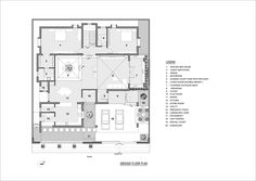 Gallery of Artha House / Living Edge Architects and Designers (LEAD) - 20 Duplex Floor Plans, Modern Floor Plans, House Floor Plans, Courtyard House Plans, Courtyard Design, Terrace Floor, House Plans Mansion, Modern Exterior House Designs, Architectural Floor Plans