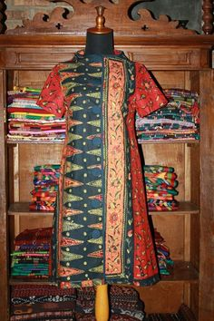 Dress batik tulis cirebon