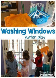 Washing Windows by P