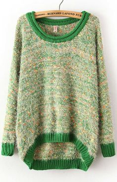 Lovely color! #knit #sweater
