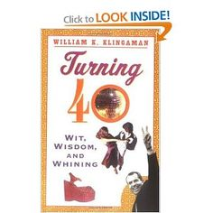 """Gotta get this book....the big """"40"""" is fast approaching!!!"""