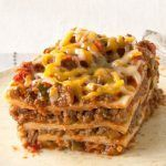 Create a little fusion with ooey-gooey KRAFT Mexican Style Shredded Cheese, beans, and taco beef layered up and baked like a lasagna. The whole family will be pleased by your decision to make this dinnertime option. Bonus: It's ready of the oven after just 30 minutes of prep, so it's an easy win …