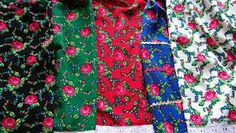 Goralska Spodnica - Polish Highlander Skirt Patterns (traditional) Skirt Patterns, Fabric Patterns, Tropical Dress, Highlanders, Love Rose, Folklore, Fashion Bracelets, Shawls, Poland