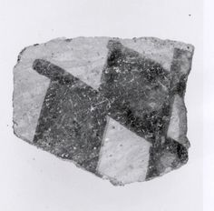 Sherd  Period:Chalcolithic Date:5th–4th millennium B.C. Geography:Iran, Nishapur Culture:Iran Medium:Ceramic Dimensions:2.05 x 0.24 in. (5.21 x 0.61 cm) Classification:Ceramics-Vessels