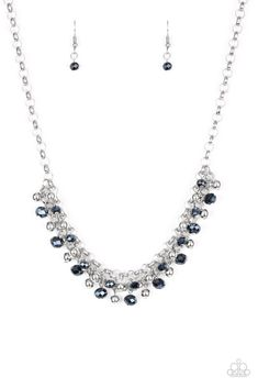 Run For The Heels Paparazzi Pearl Necklace Blue In 2019