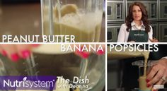 Nutrisystem provides a delicious and healthy recipe for Peanut Butter Pops.